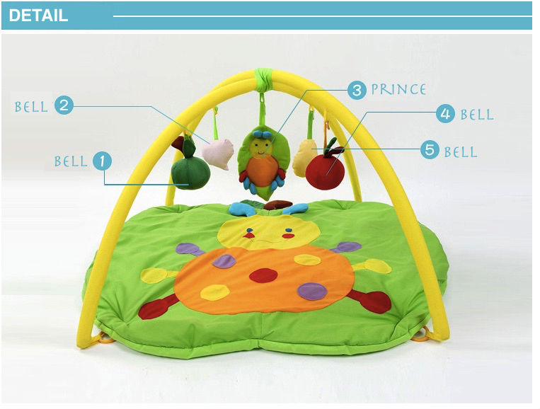 SGS Baby Play Mat tortoise Cartoon Toys Infant Floor Blanket Educational Gym Mats Kids Rug Activity Climbing Carpet PS40-1 4