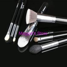 Brand SGM Top Quality 7pcs Makeup Brushes Slivery Cooper Patent pending New edition Make up brushes tools set with logo