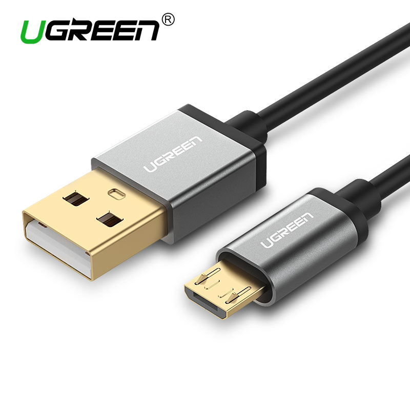 Ugreen Micro USB Cable 2.1A Fast Charging USB Data Charger Cable 1M 2M 3M Mobile Phone Cable for Samsung Xiaomi LG Android Phone