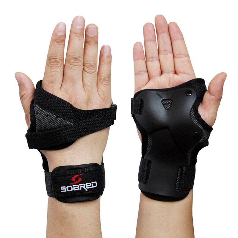 1 * par de esqui armfuls apoio de pulso proteção à mão esqui suporte de pulso palma proteção rolo snowboard patinação guarda