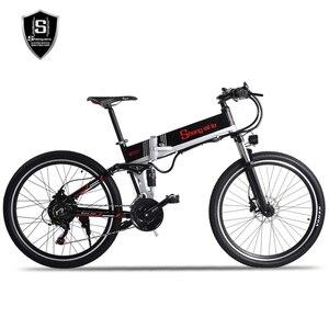 Image 2 - Новый электрический велосипед 48 в 500 Вт, вспомогательный горный велосипед, литиевый электрический велосипед, мопед, электрический велосипед, электровелосипед, электрический велосипед elec