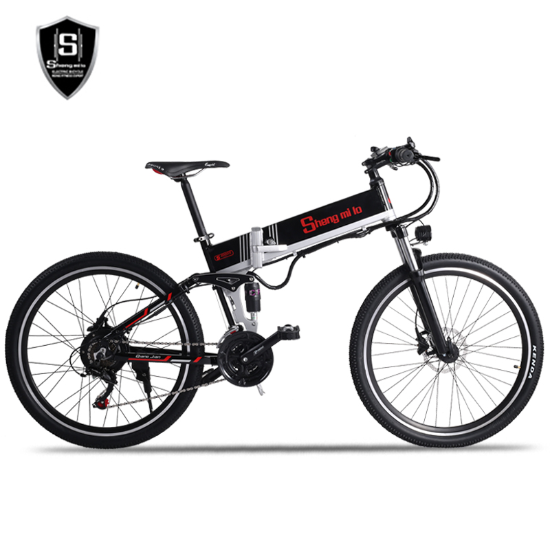 Image 2 - New electric bicycle 48V500W assisted mountain bicycle lithium electric bicycle Moped electric bike  ebike electric bicycle elecElectric Bicycle   -
