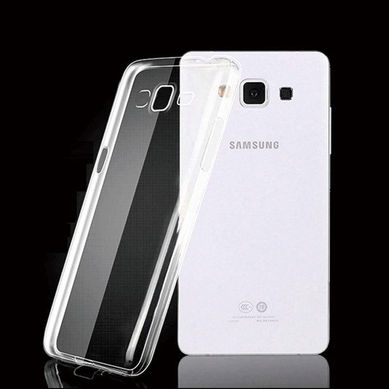 Slim Clear Transparent Soft Silicone TPU For Samsung Galaxy Grand 2 Case For Samsung Galaxy Grand 2 G7102 G7106 Coque Fundas