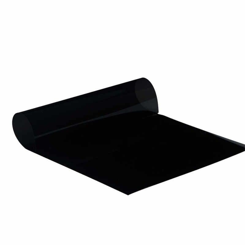 Adesivo anti uv preto para proteção solar, adesivo para proteção solar para janela de carro, para frente, para sol e sombra para carro