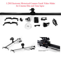Commlite ComStar CS EBSL120 120CM 1.2M Electronic Motorized Camera Track Video Slider for Cinema film and Time lapse