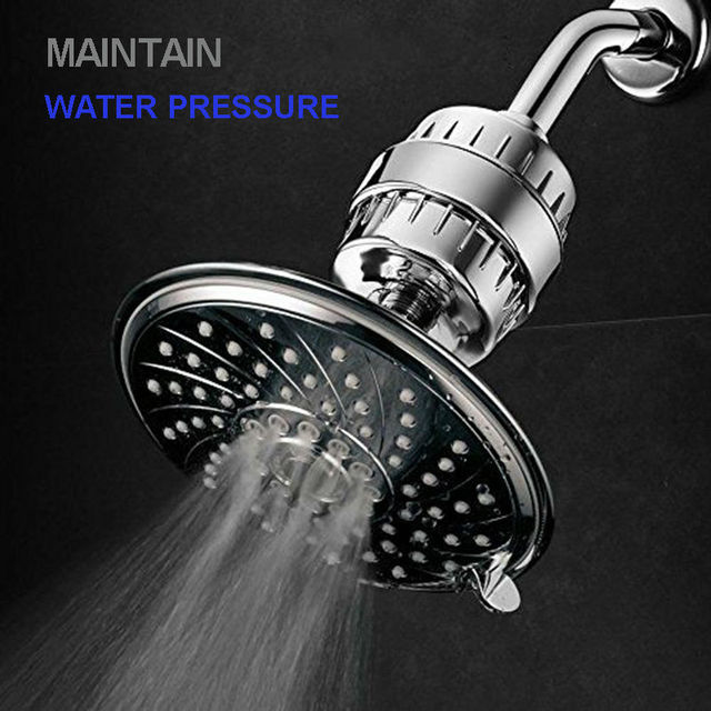 2pcs/lot Universtal Shower Filters High Capacity Remove Chlorine Heavy  Metals Soft Water Easy Install Free Shipping-in Water Filters from Home