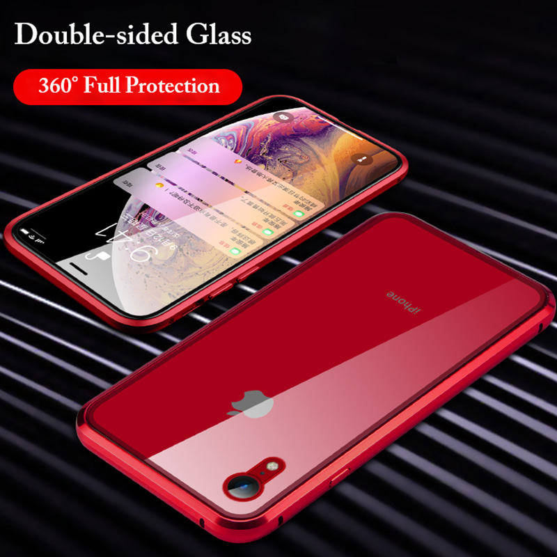 Μαγνητική θήκη από γυαλί για το iPhone Xs - Ανταλλακτικά και αξεσουάρ κινητών τηλεφώνων - Φωτογραφία 2