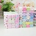 1 pcs varejo 100% algodão new baby cama cobertor de lã blanket & panos Top Quality 76*76 cm do bebê cobertores RF8569