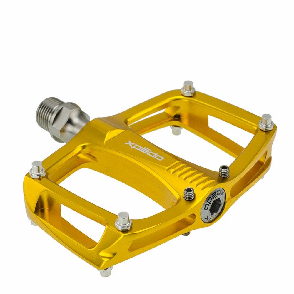 XPEDO C260 ultraléger vtt pédales Ti titane essieu pédales ville vélo route fixe vélo pliant engrenage 195 g/paire 3 roulement scellé