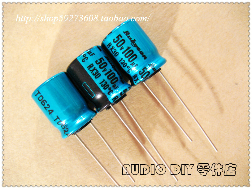 Capacitor 3.3  3.3uF 50V 105c degree Radial electrolytic 50pcs