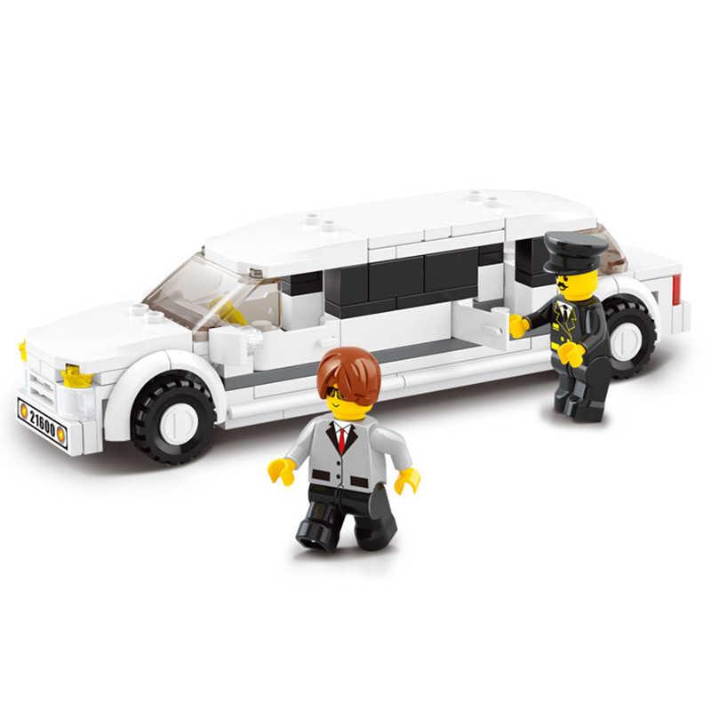 Legoings 135 pcs di Costruzione di Modello Kit di Costruzione di modello Compatibile Giocattoli Tradizionali Hobby Limousine di Lusso