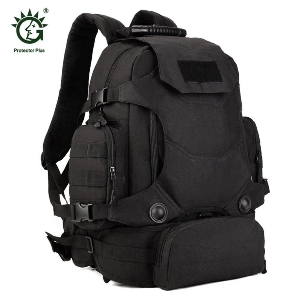 40L Многофункциональный Для мужчин Для женщин Открытый военный Molle тактический рюкзак Пеший Туризм Кемпинг водостойкий сумки