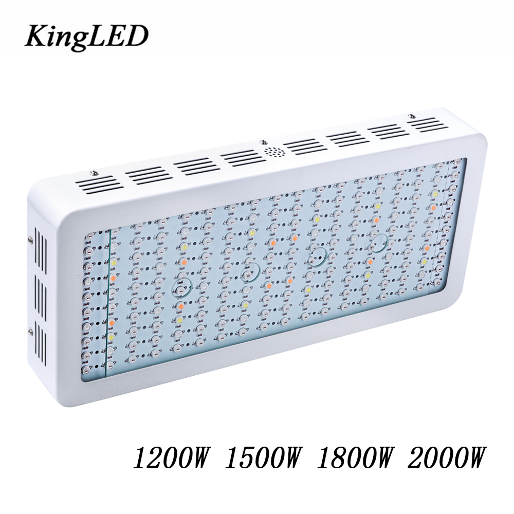 2017 Best LED Grow Light Full Spectrum 1200W/1500W/1800W/2000W for Indoor Aquario Hydroponic Plants Growing LED Lamp High Yield 200w full spectrum led grow lights led lighting for hydroponic indoor medicinal plants growth and flowering grow tent