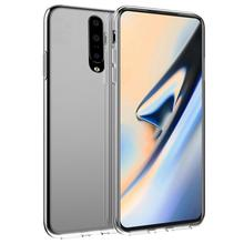 For OnePlus 7 7 Pro Case Soft Silicone Slim TPU Transparent Back Cover For Oneplus 7 Pro One Plus 7 Case Shockproof Funda Clear [hk stock] soft case tpu transparent back cover for oneplus 3