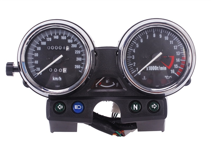 Motorcycle Speedometer Tachometer speed instrument assembly for Kawasaki Zephyr 400 X ZRX400 ZRX750 ZRX1100 tamiya 14111 1 12 kawasaki zzr1400 motorcycle model motorcycle assembly