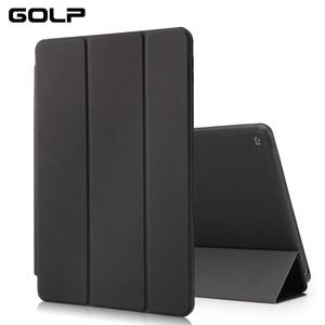 Image 3 - Für ipad air fall, GOLP PU leder Smart cover für ipad air 1, stand fall Für ipad air 2, Funda Flip Fällen für ipad air 1 2