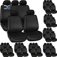 5 Seats Cloth Art 7 Colors Car Seat Cover Universal Fit Most Protects Seats From Wear Automobiles Interior Accessories T204