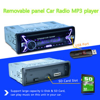 Shipping Fast 7388IC Detachable Panel CDX D4785 BT 7color Backlight Car MP3 Player Bluetooth Radio 12V