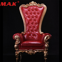 1/6 scale figure accessory fed color with crystal european queen sofa chair fuiniture models toys for 12'' action figures bodies