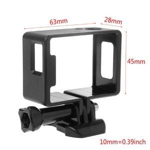 Image 3 - 1 Set Koruyucu Çerçeve Sınır Yan Standart Shell Konut Case Toka Montaj Aksesuarları için SJ6000 SJ4000 Wifi Eylem Kamera Kamera