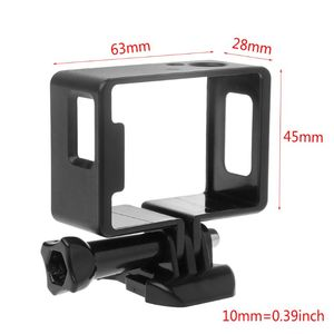 Image 3 - 1 Set Protective Frame Border Side Standard Shell Housing Case Buckle Mount Accessories for SJ6000 SJ4000 Wifi Action Camera Cam