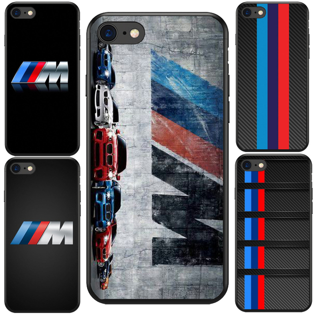 timeless design 03a54 76fcd US $2.89 |Luxury Car Bmw M logo Black Soft Silicone TPU Cool Best Cover  Case For iPhone XS Max 5S SE 6 6SPlus 8 8Plus Bmw M Car-in Half-wrapped  Case ...