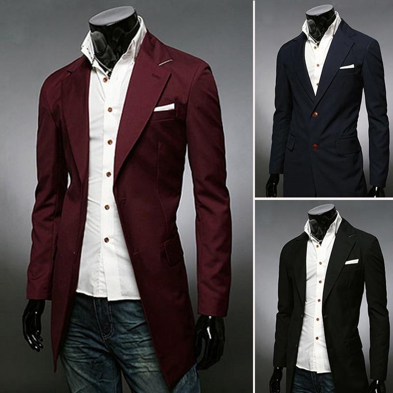 20b26e243b71d England British Men Fashion Casual Wedding Blazers Slim Fit Formal Bsuiness  Men s Dress Groom Tuxedo Blazer Mens Suit Jacket en Blazers de La ropa de  los ...
