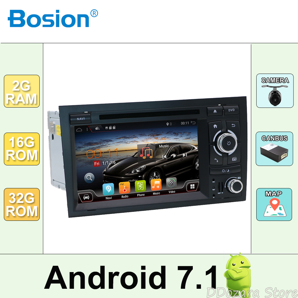 2din Car DVD GPS Navi for Audi A4 GPS (2003 2008) Audi S4/RS4/8E/8F/B9/B7 With GPS Wifi Bluetooth Radio RDS Canbus Map BT