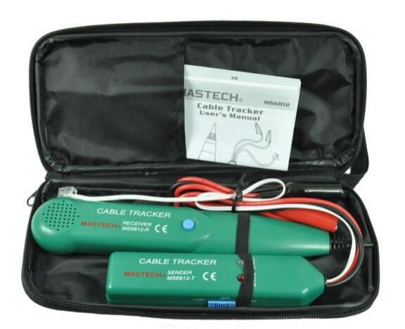 """""""MASTECH MS6812"""" telefono telefono laido tinklo kabelio testerių - Matavimo prietaisai - Nuotrauka 2"""