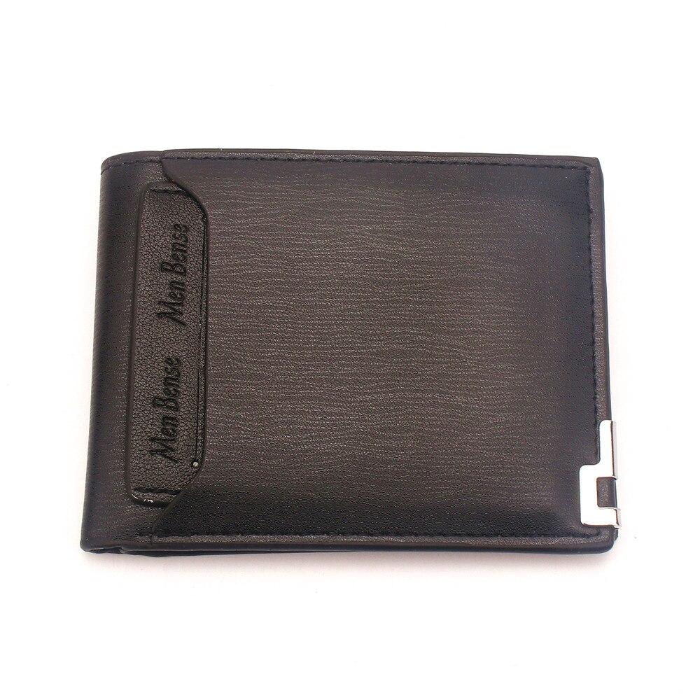 Купить маленькие мужские кошельки кожаный короткий кошелек для мальчиков