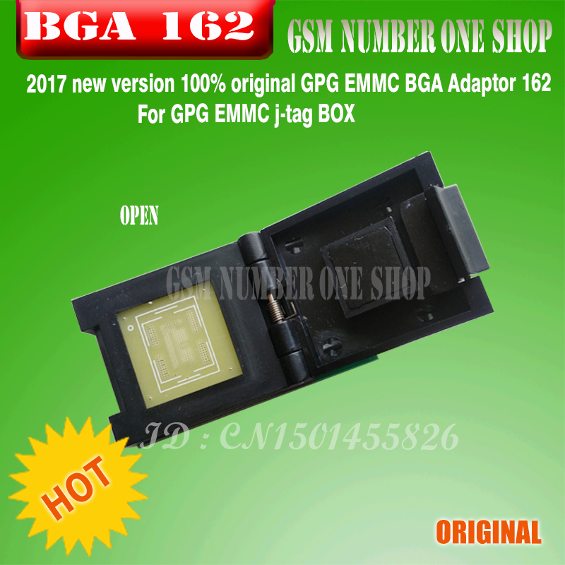 Back To Search Resultscellphones & Telecommunications Communication Equipments 2017 The Newest Version 100% Original Gpg Emmc Bga Adaptor 221 For Gpg Emmc Box J-tag Box Free Shipping Reasonable Price