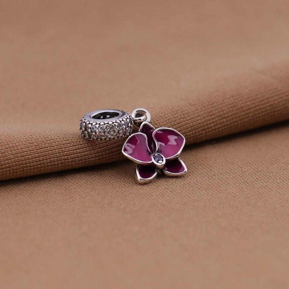abalorio orquidea pandora