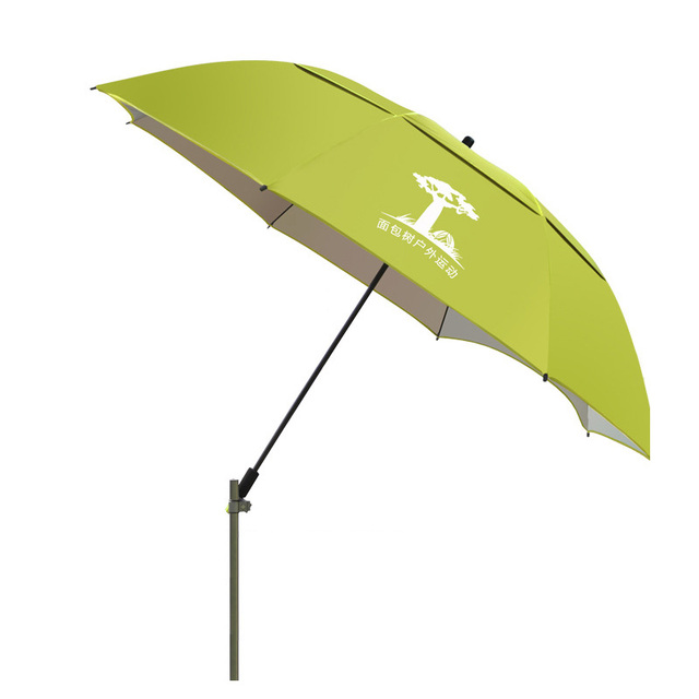 Newly Outside Garden Furniture Sunshade Umbrellas Double Layer Windproof  Patio Umbrella UV Protection Umbrella