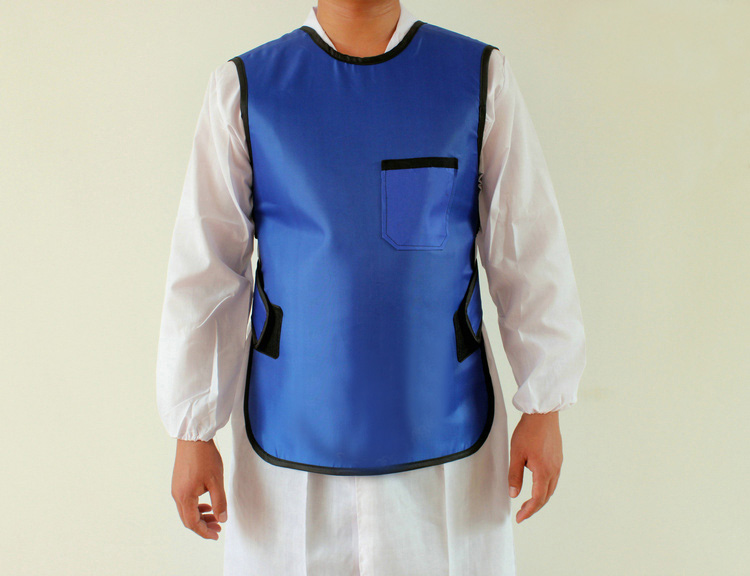 Free shipping 0.5mmpb x ray protective clothing, x-ray shielding jacket .children protection short apron