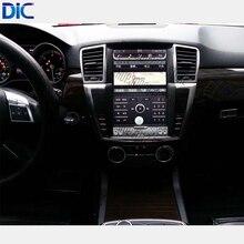 6,0 Android система навигации плеер вертикальный экран рулевого колеса оригинальный контроль 9 дюймов 12 дюймов для Benz ML GL 2012-2017