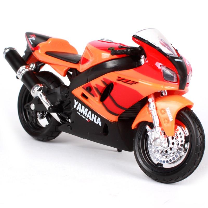 Maisto 1:18 yamaha 오토바이 모델을위한 YZF-R7 오렌지 - 장난감 차량