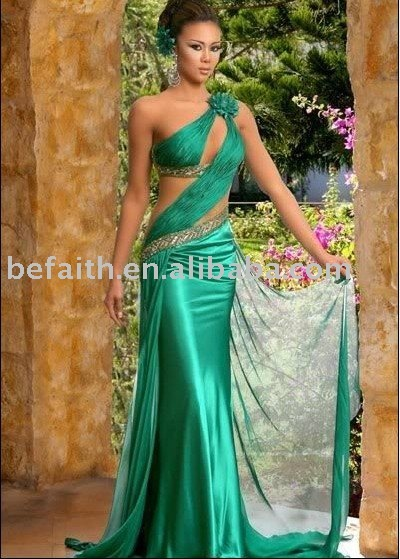 Dropshipping A-line Sexy Evening Dresses Prom Dress 2096
