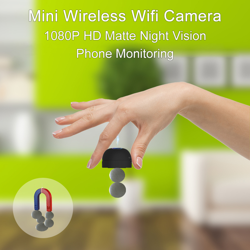 HD mini ip camera outdoor cam small 1080P Night Vision Camcorder Micro video Wireless Camera Recorder