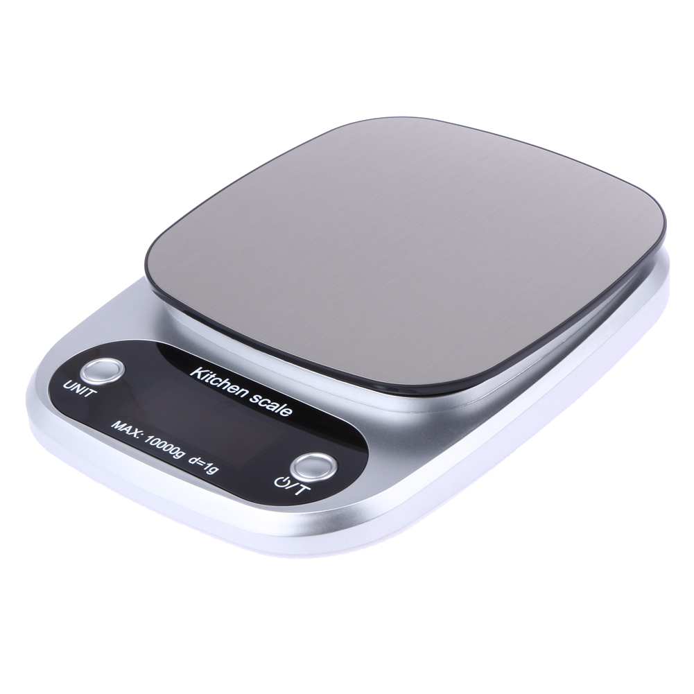 10000g/1g Mini Digital Kitchen Scale Food Diet Balance Weighting Scale LED Electronic Cooking Baking Scale Precise Measure Tools pocket 0 1 500g digital balance food flour weight scale kitchen measuring spoon 2 x aaa