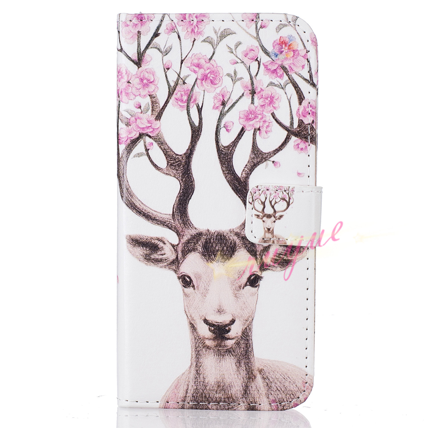 New Art Fashion For Samsung Galaxy S7 Edge Cases Wallet Stand Flip Cover PU Leather Card Paiting Slot Photo Frame Bag Stand Capa