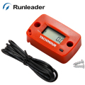 (20pcs/lot) Runleader Digital Record Max RPM Hour Meter Gasoline Engine Tacho Hour Meter Used For Petrol Engine 2/4 Stroke