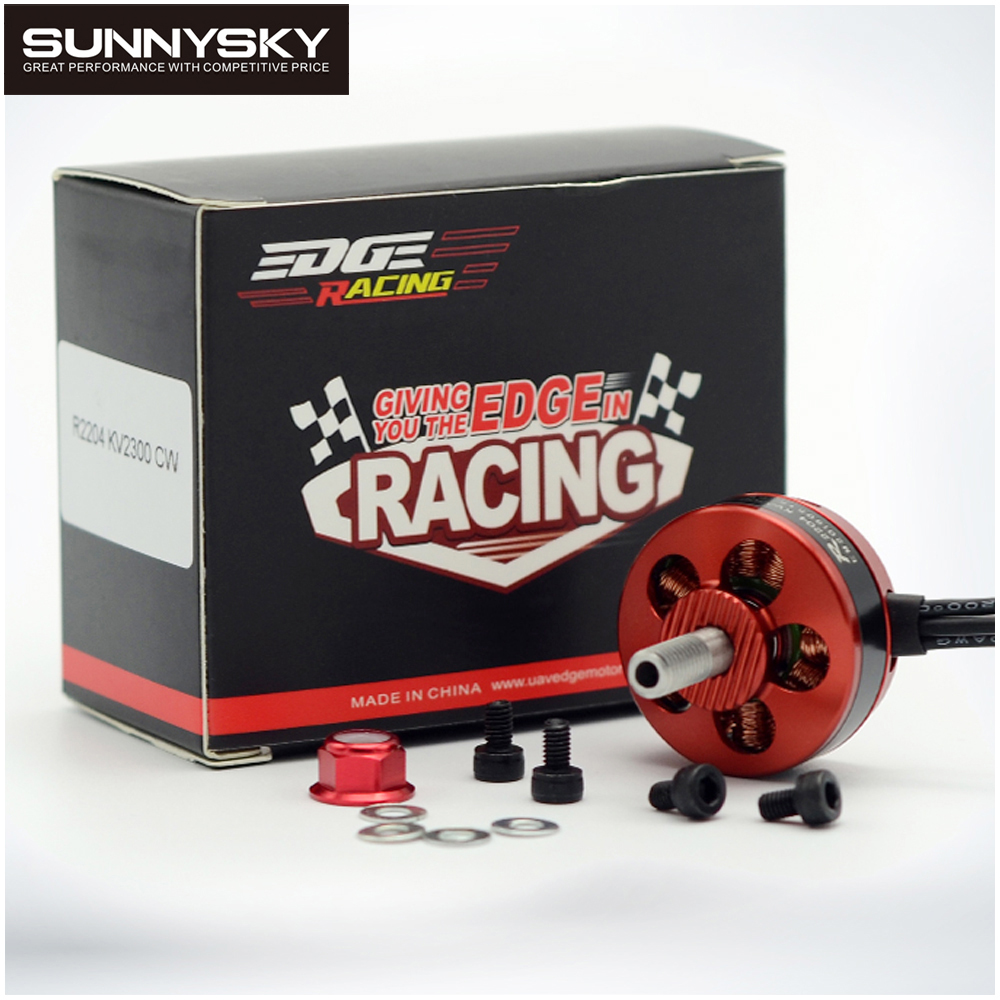 1pcs SunnySky Edge Series R2204 2300KV CCW/CCW Brushless Motor For FPV Racing RC Quadcopter Multicopter Helicopter 2017 dxf 1pcs original sunnysky x3530 kv570 brushless motor x series for fpv multicopter rc quadcopter