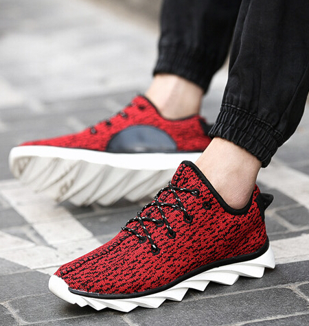 2eb6c42cd0a97 Free Shipping 2015 New Arrival Kanye West Yeezy 350 Sneakers Low Top Casual  Lacing Blade Sole Sport Shoes Green Sneakers-in Fitness   Cross-training  Shoes ...