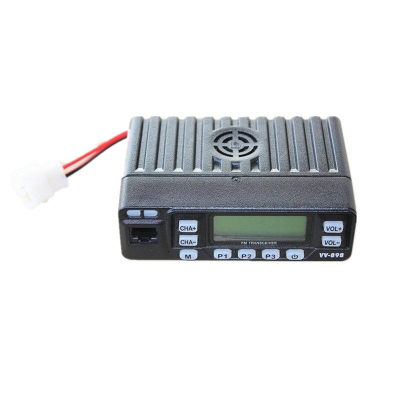 Image 3 - 100% Original LEIXEN VV 898 Car Radio Two Way Radio 10W UHF/VHF Ham Radio  Mobile Transceiver Woki Toki-in Walkie Talkie from Cellphones & Telecommunications