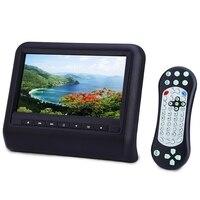 9 Inch Auto Dvd-speler Mp3-speler USB SD Slot 800x480 Lcd-scherm Hoofdsteun Achterbank Auto Monitor Afstandsbediening Met Game CD