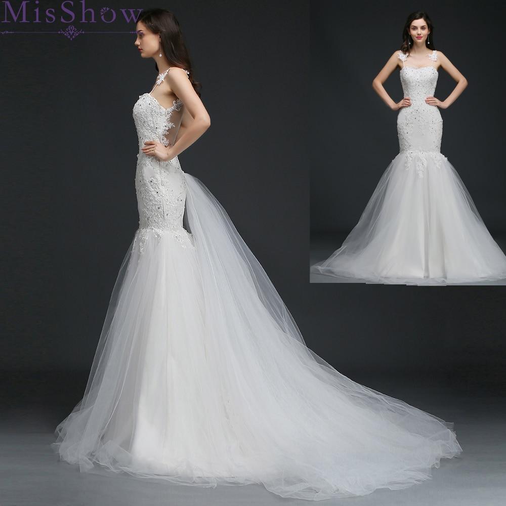New 2019 Mermaid Wedding Dress Vestido De Novia Lace