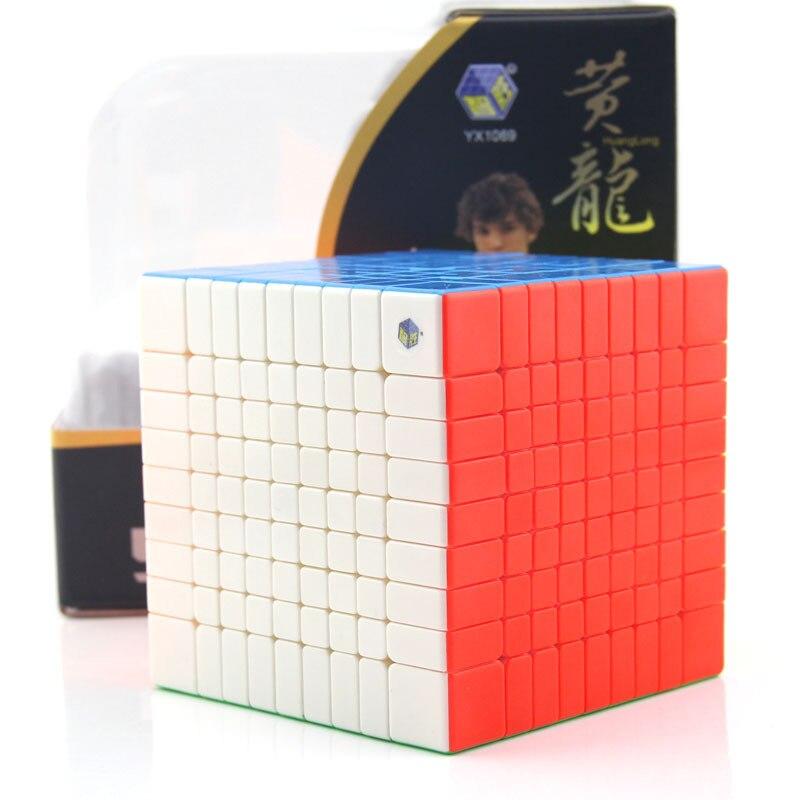 Cube professionnel 9x9x9 9 cm vitesse pour cubes magiques antistress puzzle néo Cubo Magico autocollant pour enfants jouets éducatifs pour adultes