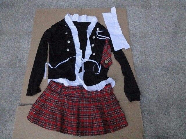 Erwachsene Freche Schule Mädchen Kostüm Freies Verschiffen Heißer Beliebte Sexy Phantasie Student Uniform Kleid 3S1092 Schülerin Party Kostüme
