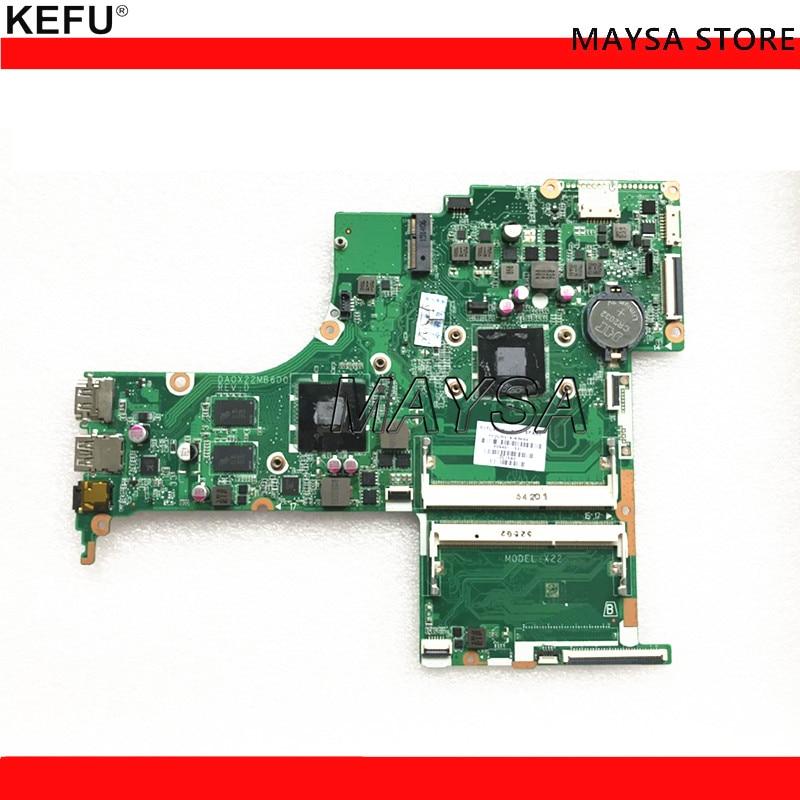 KEFU 809401-601 FOR HP NOTEBOOK 17-G series laptop motherboard DA0X22MB6D0 REV:D 2GB A8-7410 809401-001 mainboard Notbook PCKEFU 809401-601 FOR HP NOTEBOOK 17-G series laptop motherboard DA0X22MB6D0 REV:D 2GB A8-7410 809401-001 mainboard Notbook PC