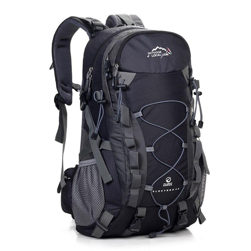 2018 unisex 40L Women Travel Backpacks Multi -Color Daypack Double Shoulders Bag Polyester Men Rucksack back pack solid  443
